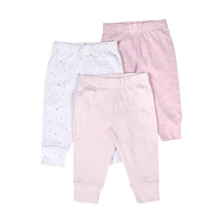 George baby Girls' Cotton Joggers - image 1 of 2