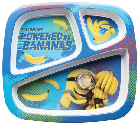 Minions Divided Plate For Kids Walmart Canada