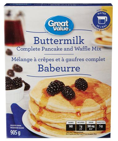 Great Value Buttermilk Complete Pancake Mix - image 1 of 3