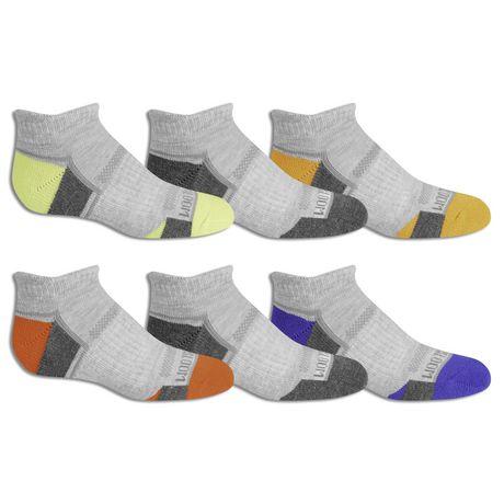 Fruit of the Loom - Boys' Sport Low Cut Socks - 6 Pack - image 3 of 3