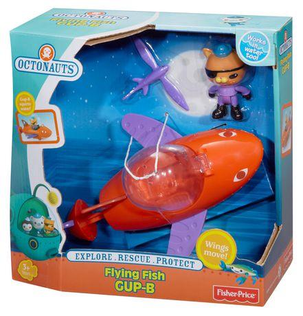 Fisher-Price Octonauts Flying Fish GUP-B Playset - image 8 of 9