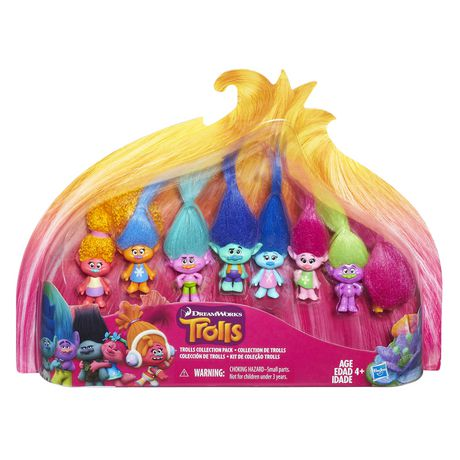 DreamWorks Trolls Troll Collection Pack