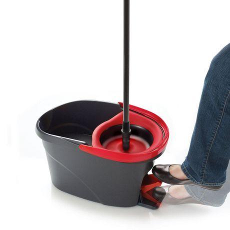 Vileda Easy Wring Spin Mop & Bucket System - image 3 of 7