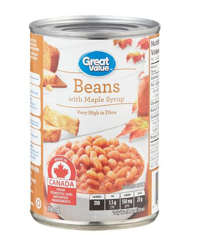 Great Value Baked Beans in Maple syrup - image 1 of 2