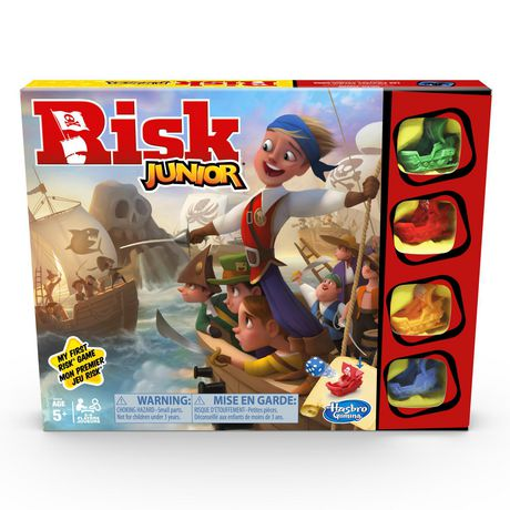 Risk Junior Game: Strategy Board Game - image 1 of 4