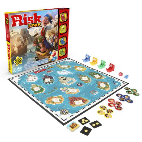 Risk Junior Game: Strategy Board Game - image 2 of 4