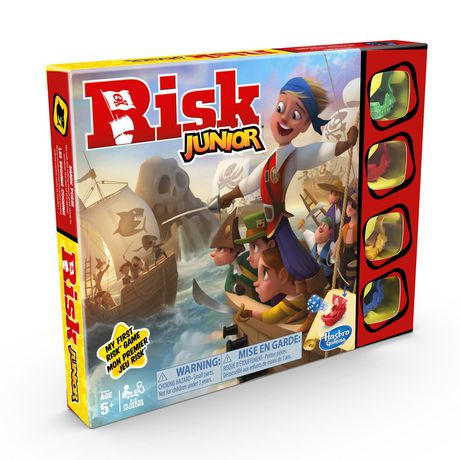 Risk Junior Game: Strategy Board Game - image 3 of 4