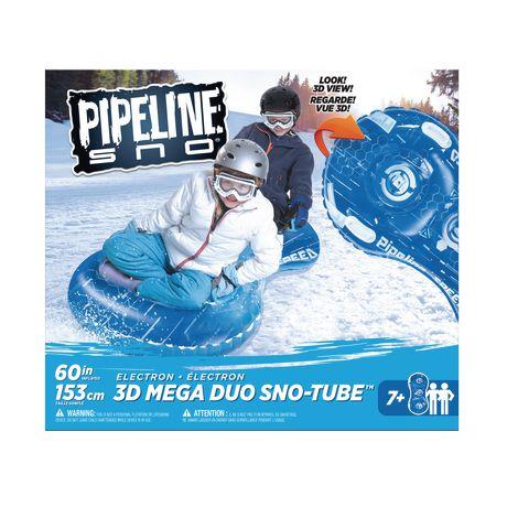 Tube à neige 3D-Mega Duo de Pipeline Sno en bleu électron - image 4 de 4