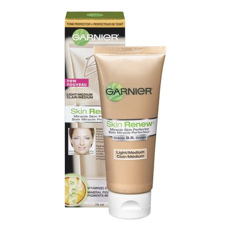 garnier skin renew bb cr me soin miracle perfecteur soin hydratant quotidien peau mixte grasse. Black Bedroom Furniture Sets. Home Design Ideas