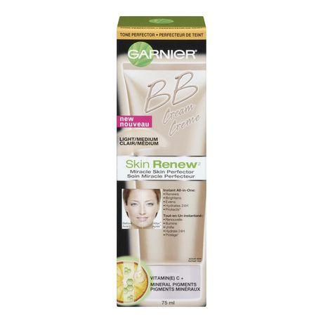 Garnier Skin Renew Beauty Balm Cream Miracle Skin Perfector Combination to Oily Skin Light/Medium - image 1 of 4