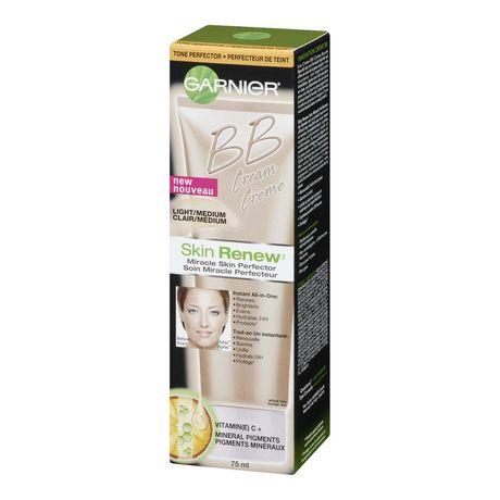 Garnier Skin Renew Beauty Balm Cream Miracle Skin Perfector Combination to Oily Skin Light/Medium - image 2 of 4