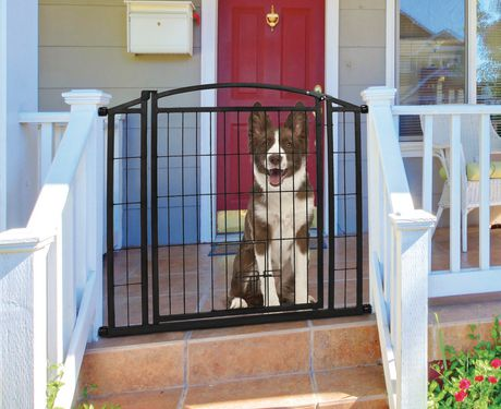 Carlson Pet S Weatherproof, Outdoor Pet Gate For Porch