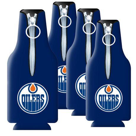 Isolant à bouteille à logo des Oilers d'Edmonton de la LNH - image 1 de 1