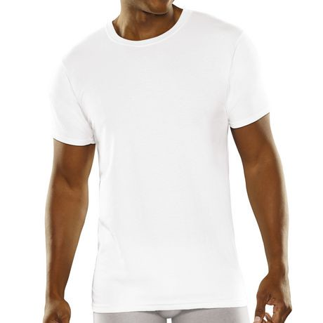 fruit of the loom men 39 s breathable 3 pack white crew t shirt walmart canada. Black Bedroom Furniture Sets. Home Design Ideas
