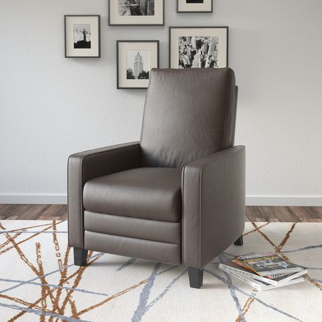 CorLiving Kelsey Bonded Leather Recliner - image 3 of 5