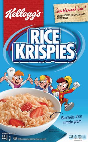Kellogg's Rice Krispies Cereal, Original, 440g - image 2 of 5