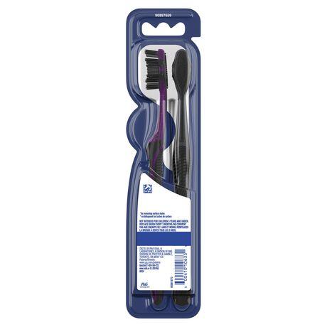Brosses à dents au charbon Oral-B Thérapie blanchissante, souple - image 3 de 8