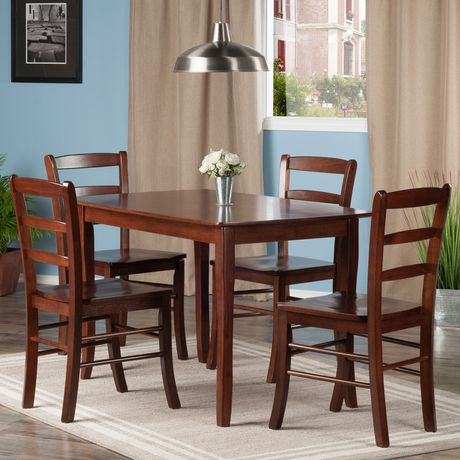 Winsome Inglewood 5pc Dining Table Set | Walmart Canada