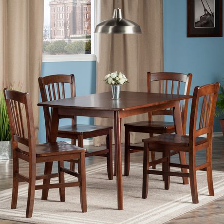 Winsome Shaye 5pc Dining Table Set | Walmart Canada