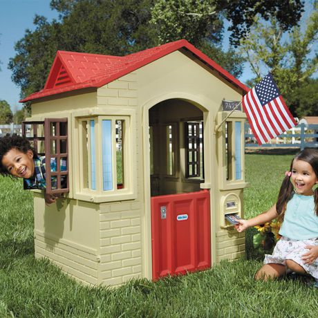 Little Tikes Cape Cottage Playhouse - Tan - image 3 of 4