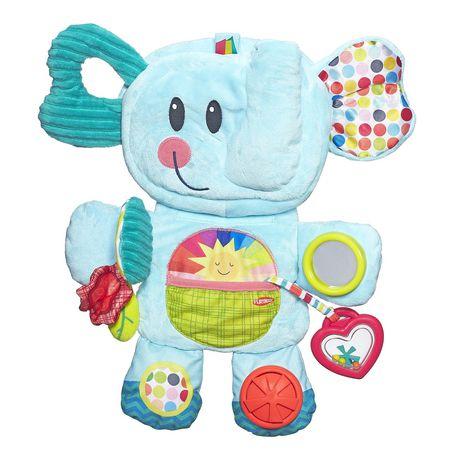 Playskool Fold 'n Go Busy Elephant - Blue - image 1 of 9