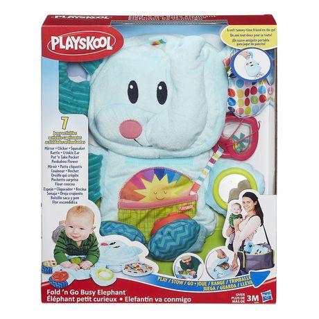 Playskool Fold 'n Go Busy Elephant - Blue - image 3 of 9