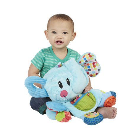 Playskool Fold 'n Go Busy Elephant - Blue - image 2 of 9