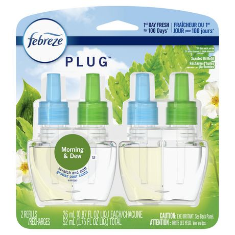 Febreze PLUG air freshener refills are compatible with both the classic and newly redesigned Febreze plug warmers. Like what you smell? Febreze is also available in Febreze AIR (air freshener spray) and Febreze CAR (car air freshener vent clip).Reviews: