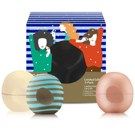 EOS Holiday Collection Lip Balms - Visibly Soft Peppermint ...