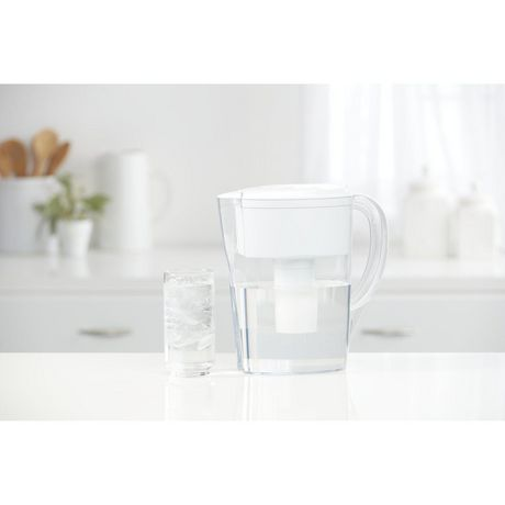 Brita Space Saver Water Filter Pitcher with 1 Standard Filter, White, 6 Cup - image 9 of 9