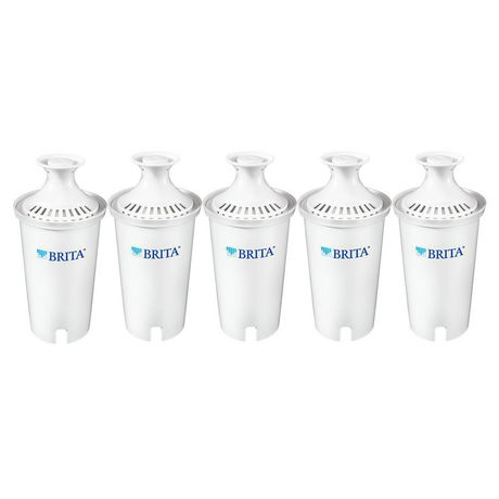 Brita® Standard Water Filter, Standard Replacement Filters for Pitchers and Dispensers, BPA Free, 5 Count - image 2 of 7
