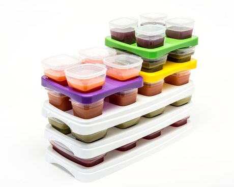 Baby Cubes Baby Food Containers Starter Kit - image 4 of 4