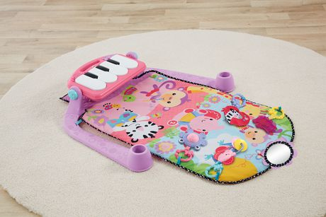 Fisher Price Kick Amp Play Piano Pink Walmart Canada