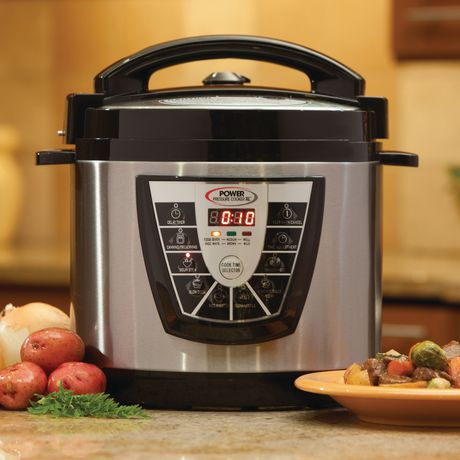 Power Pressure Cooker XL, $97 The slowest in every test, this pressure cooker took 50 percent longer than the Fagor to reach pressure. Cooking options include slow cooking, making rice, and browning.