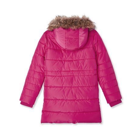 George Girls' Long Puffer Jacket - image 2 of 2
