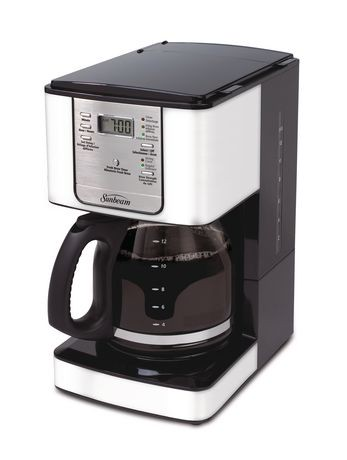 Sunbeam Coffee Maker Auto Shut Off : Sunbeam 12-Cup Programmable Coffeemaker Walmart Canada