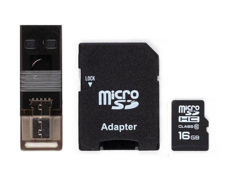 blackweb Msd 16GB CL10 W/OTG Reader - image 1 of 1