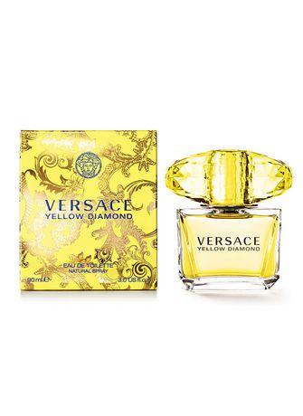 Versace Yellow Diamond Eau De Toilette Spray For Women 90 Ml