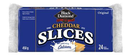 Black Diamond Cheddar Style Cheese Original Slices