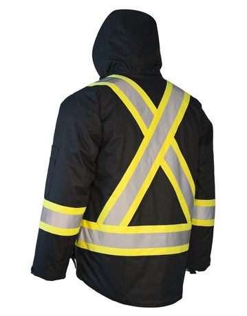 1bcf9def5 Forcefield 3-in-1 Men's Safety Parka with Removable Puff Jacket