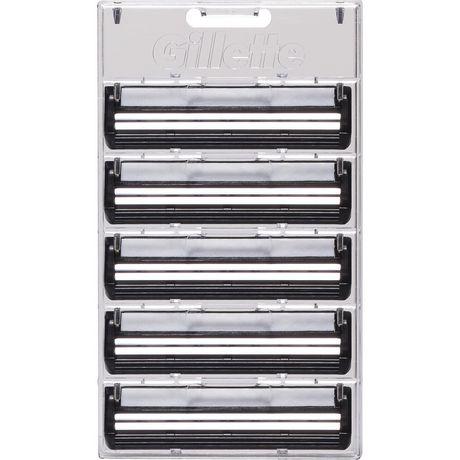 Gillette TRAC II Plus Razor Blade Refill Cartridges - image 2 of 7