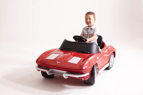 Kalee 1963 Corvette Stingray 12V Battery Powered Ride-On with Remote Control