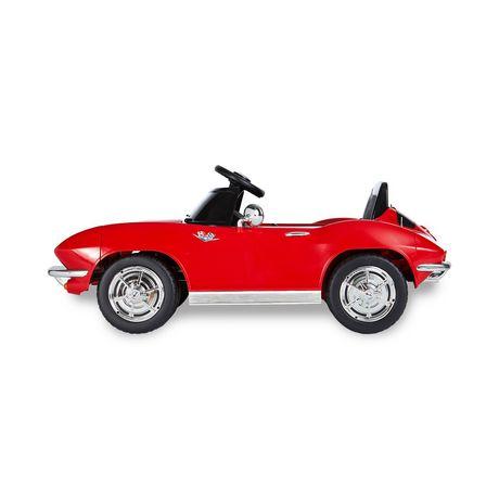 V Stingray Alimentée Corvette 12 Voiture Kalee Avec Télécommande À 1963 Batterie De 5RL3jq4A