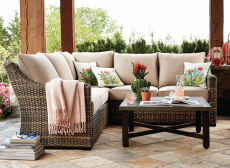 hometrends Monaco 4-piece Sectional Set - image 1 of 8