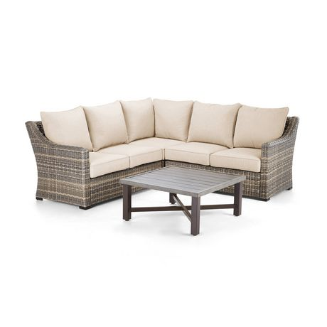 hometrends Monaco 4-piece Sectional Set - image 2 of 8