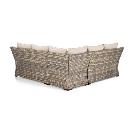 hometrends Monaco 4-piece Sectional Set - image 6 of 8