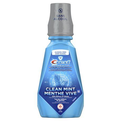 Rince-bouche Crest Pro-Santé Multi-Protection Menthe vive - image 1 de 8