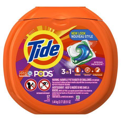 Watch video · One reason for the scary outcomes is that the detergent in the packs is much more concentrated. Tide Pods, for example, are about 90% active ingredients and 10% water.