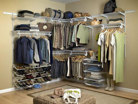 Amazing ClosetMaid 4 Ft.   6 Ft. ShelfTrack Closet Organizer