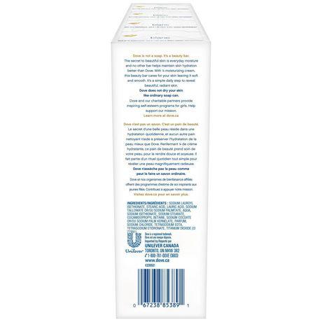 Dove® White Moisturizing Cream Beauty bar - image 3 of 8